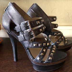 Michael Kors Aria platform heels worn once